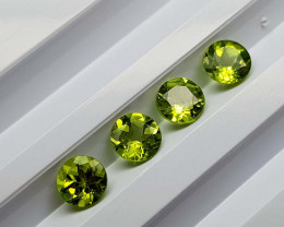 3.45Crt Peridot Calibrated Lot  Natural Gemstones JI105
