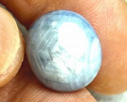 1$NR - 24.54 Ct. Natural Silver Blue Star Sapphire - Gorgeous