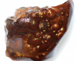 55.80 CTS FIRE AGATE ROUGH FROM MEXICO[F8562]3