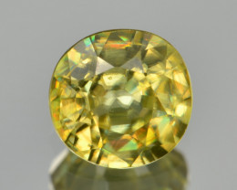 Natural Sphene 0.60 Cts Full Fire and Luster