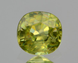 Natural Sphene 0.63 Cts Full Fire and Luster