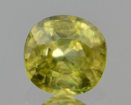 Natural Sphene 0.64 Cts Full Fire and Luster