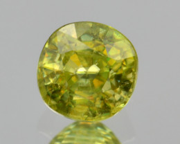 Natural Sphene 0.72 Cts Full Fire and Luster
