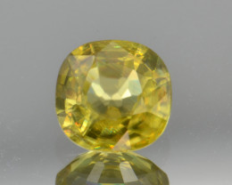 Natural Sphene 0.88 Cts Full Fire and Luster