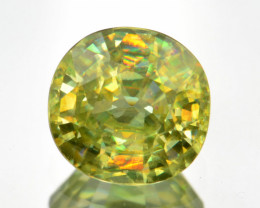 Natural Sphene 1.25 Cts Full Fire and Luster