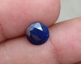 SAPPHIRE BLUE FACETED GEMSTONE GENUINE VA1156