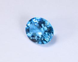 5.32ct Lab Certified Blue Topaz