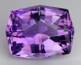 14.55 CT NATURAL AMETHYST TOP FANCY CUT GEMSTONE AF9