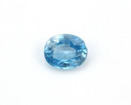 **NR** 3.15ct Natural Blue Cambodian Zircon