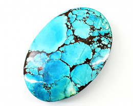 Genuine  210.00 Cts  Turquoise Oval Shape Cabochon