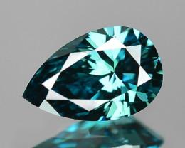 0.28 Cts Fancy Intense Blue Color Loose Diamond