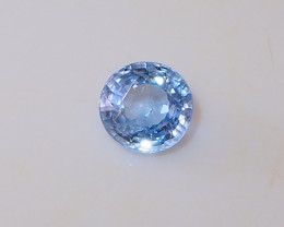 2.05ct natural light blue sapphire