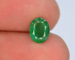 AAA Grade Top Color 1.0 ct Zambian Emerald