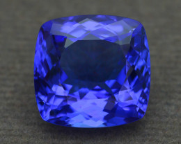AAA Grade 6.60 ct Tanzanite eye catching Color SKU.23