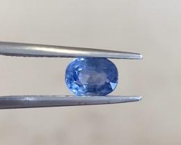 1.09ct Natural blue sapphire