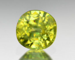 Natural Sphene 0.68 Cts Full Fire and Luster