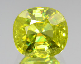 Natural Sphene 4.17 Cts Full Fire and Luster