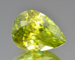 Natural Sphene 6.67 Cts Full Fire and Luster