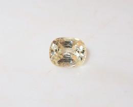 1.17ct Unheated  yellow sapphire