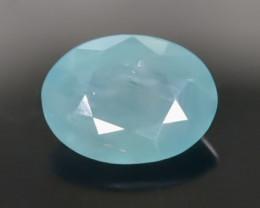 1.39 Crt Natural Rare Grandidierite Faceted Gemstone.( AB 38)