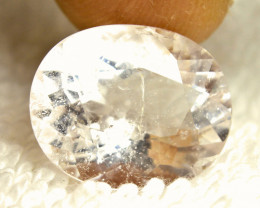 12.21 Carat Brazil Included Morganite  - Gorgeous