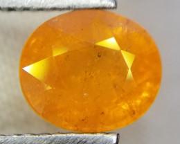 Spessartite, 2.50ct, very nice oval cut gemstone!!!