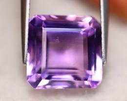 9.27ct Natural Purple Amethyst Square Cut Lot V6496