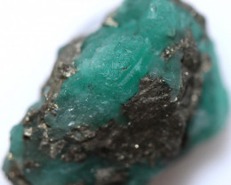 21.09 CTS COLUMBIAN EMERALD CRYSTAL SPECIMEN [MGW5570]