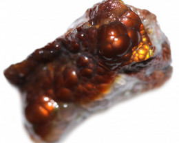 42.55 CTS FIRE AGATE NATURAL SPECIMEN  [MGW5594]