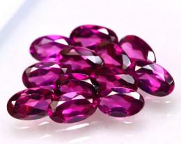Rhodolite 3.21Ct 12Pcs Natural Purple Rhodolite Garnet E2907/B2