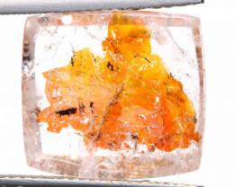 10 CTS KOI FISH QUARTZ FACETED STONE  BG-692