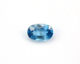 **NR** 2.5ct Natural Blue Cambodian Zircon