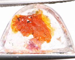 9.30 CTS KOI FISH QUARTZ FACETED STONE  BG-702