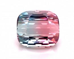 69.50 Ct Stunning Bi  color Lovely Tourmaline Gemstone