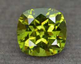 Demantoid Garnet 1.70 ct Saturated Green Color Untreated SKU.38