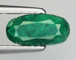 0.95 Cts Gorgeous Color Emerald ~ Swat ES8