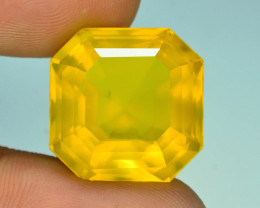 AAA Grade 25.10 ct Mexican Yellow Fire Opal