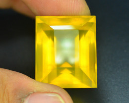 AAA Grade  36.30 ct Mexican Yellow Fire Opal