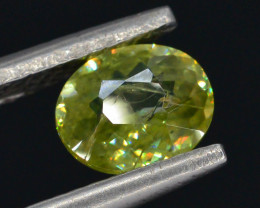 Top Fire 0.50 ct Natural Sphene