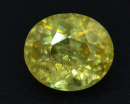 Top Fire 0.65 ct Natural Sphene