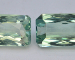 24.25 Ct Green Spodumene Gemstone From Afghanistan~ A