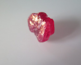 NEW ARRIVAL CUTABLE ROUGH RUBY MOZAMBIQUE 34.92cts