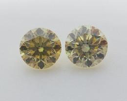 0.24 , Round Brilliant Cut Diamonds , Fancy Color Diamonds