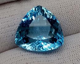 27.95CT BLUE TOPAZ BEST QUALITY GEMSTONE IIGC06