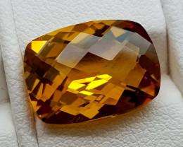 6Crt Madeira Citrine Natural Gemstones JI106
