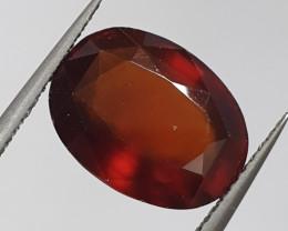 7.27ct Hessonite Garnet 13X10mm ( SKU 23)