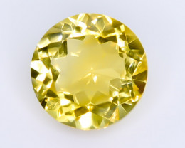 4.69 Crt Natural Citrine Faceted Gemstone.( AB 39)