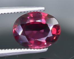 2.66 Crt Natural Rhodolite Garnet Faceted Gemstone.( AB 39)