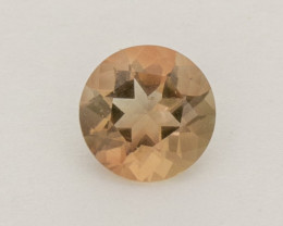 0.75ct Rootbeer Round Oregon Sunstone (S2553)