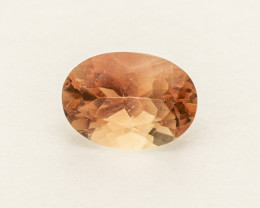 0.8ct Peach Oval Oregon Sunstone (S2554)